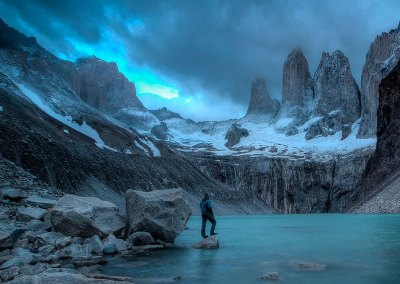 Torres del Paine 360º volta completa!