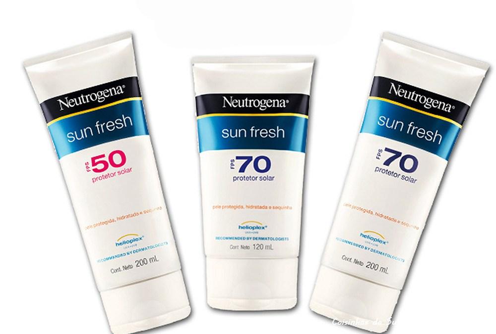 Protetor solar fator 70