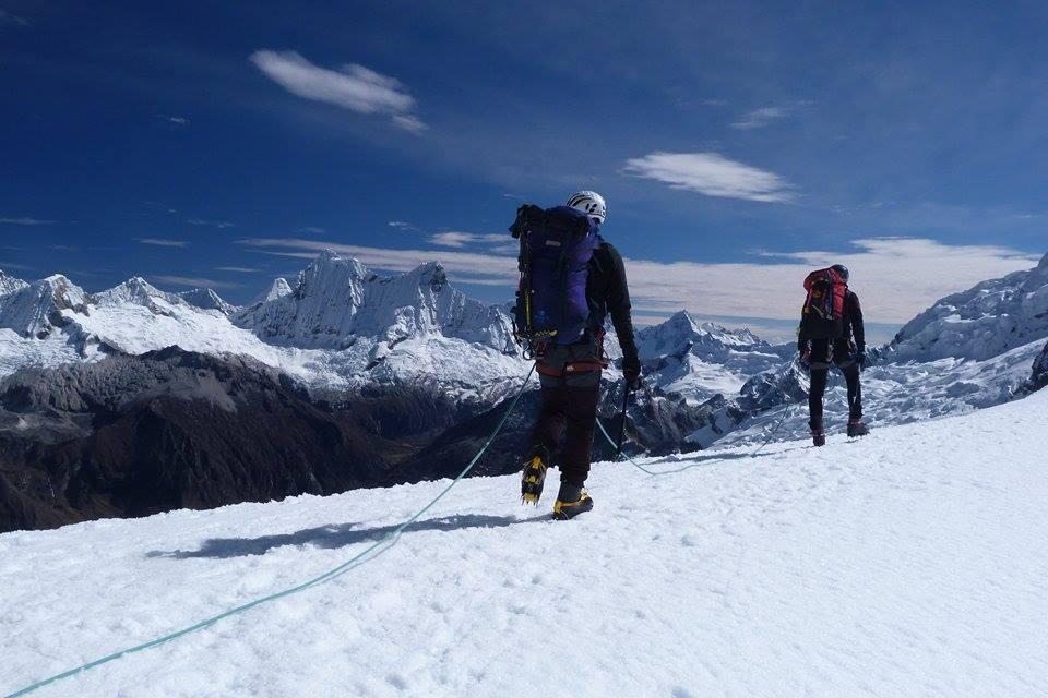 Guiar em montanhas é viver o sonho do próximo!