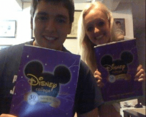 Sarah and Peter Brookhart accepted to Disney College Program