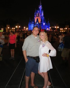 Sarah and Peter Brookhart at Walt Disney World