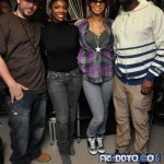 Kandi, Kim, Keri, Rasheeda, & Wyclef Jean Takes Over The Aphiliates Studio