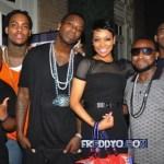 Gucci Mane Homecoming Dinner With Waka Flocka, Shawty-Lo, Monica, Kandi Frank Ski, Wale & More