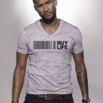 "Usher, Kim Kardashian,  Alicia Keys, & More New ""Buy Life"" Shirt Line"