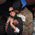 Wiz Khalifah Has His Album Release Party With New Boo Amber Rose!