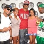 Rapper Future Host Salute the DJ Event at Fly Kix ATL
