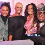 Nene Leakes, Cynthia Bailey, Marlow Hampton Real Atlanta Housewives Viewing Party @BarOne Atl