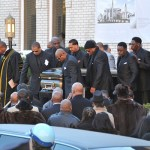 Family And Friends Pay Respect At Rapper Heavy D's Funeral