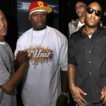"""Listen to 50 Cent feat. T.I. & Young Jeezy : """"Up!"""" (Remix)"""