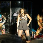 Trina Braxton Debuts New Single at Superbowl Party @ Bass Mint during Half-time