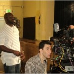 "Producer Roger Bobb Spotted on the set of GMC ""Raising Izzie"" in Atlanta,GA"