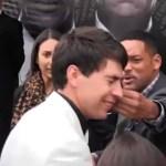 Will Smith ATTACKS Ukrainian Kissy Reporter on 'Men in Black 3' Red Carpet