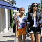 Willow Smith and Jada Pinkett Out & About At Cannes In France