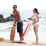 PHOTOS: Eddie Murphy and Rocsi Diaz Spotted At Hotel In Hawaii With His Children