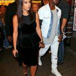Kim K. and Kanye go to Broadway