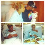 Kimbella & Juelz Santana Welcome New Baby Girl