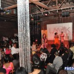 EXCLUSIVES PHOTO: Ebony Steele Bare Chest for Breast Cancer Runway Show