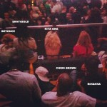 Chris Brown and Rihanna Cuddle Up At Jay-Z Concert