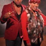 Exclusive Photos: Bobby V New Single 'Put It In' Featuring K. Michelle Video Shoot