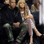 Jay-Z and Beyonce Courtside For Brooklyn Nets Season Opener