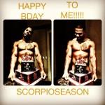 Nelly Gets Naked For Scorpio Season Birthday