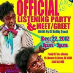 Event: @KnerdStar Listening Party & Meet/Greet At Tees & Quotes