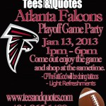 Event: Atlanta Falcons Playoff Game Party At Tees & Quotes
