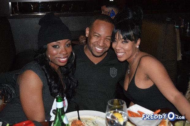 K Michelle And Ochocinco K. Michelle Celebrates...