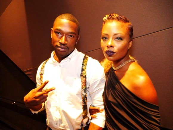 Eva Pigford and Kevin McCall at Summer of Gatby LA screening