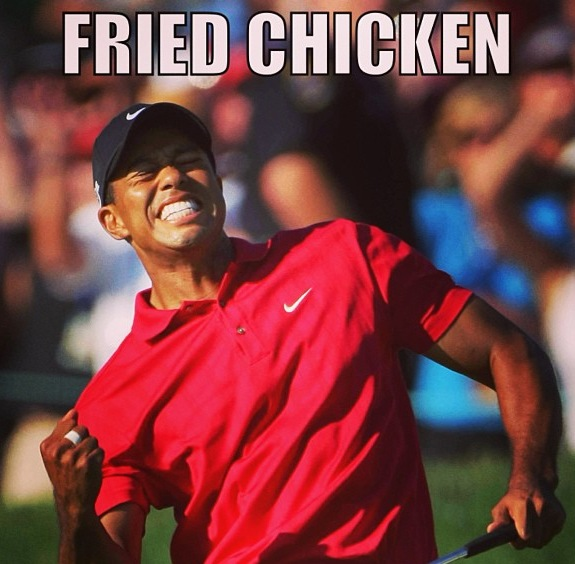 tiger-woods-fried-chicken-comments-freddy-o