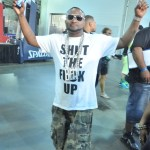 Shawty Lo's Pregnant Girlfriend Shakes Her Laffy Taffy on on Birthday Bash 18 Stage