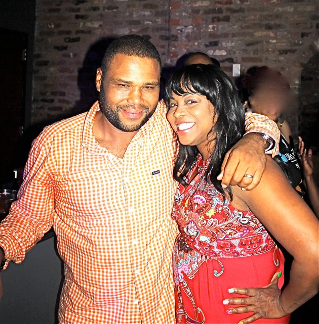 Anthony Anderson and Jonell PR