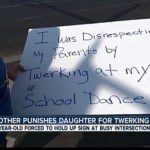 Mother Publicly Punishes Daughter For Twerking At School Dance