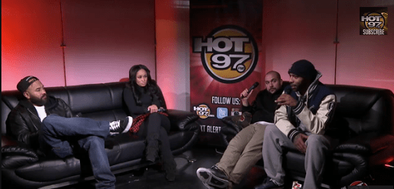 Joe Budden Tahiry Hot 97