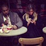 Kanye & Kim Make A Fast Food Stop At Wendy's