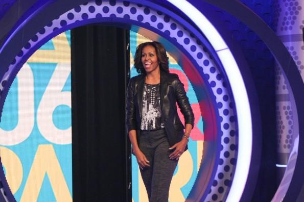 Michelle Obama BET 106 2013 2