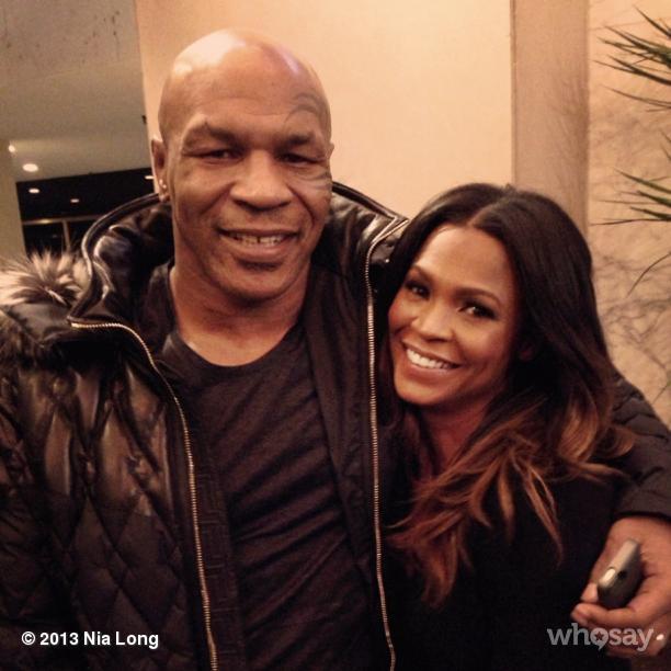 Nia Long Mike Tyson