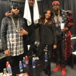 [PHOTOS] Celebs Come Out To Yeezus Show In Atlanta : Monica, 2 Chainz, Bow Wow, Kim Kardashian, Lil Wayne & More