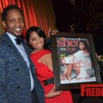 PHOTOS: Toya Wright Spotted at Sheen's Magazine Cover Party!