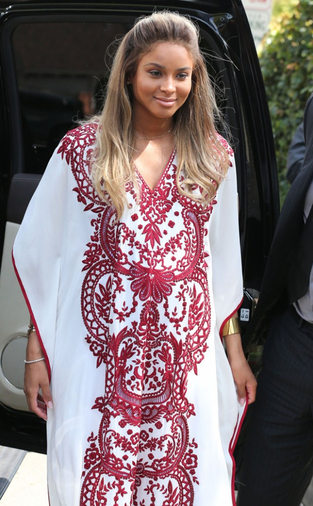 Lovely Ciara Was All Smiles, And With Fuller Cheeks, At Her Baby Shower This  Weekend. Checkout Which Celebs Dropped By To Show Love For Her Impending  Bouncing ...