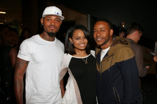 Kyla Pratt + Eric Bellinger at LUCY LA screening!