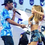 Are Big Sean And Ariana Grande An Item? Coupled Up At @MTV 2014 VMAs!