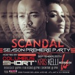 "Columbus Short Throws A ""Scandal"" Premiere Party!"