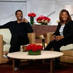 "Denzel Washington Visits Queen Latifah to Promote ""The Equalizer"" In Theaters Today"