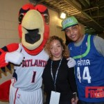 T.I. Took the Court at the Atlanta Hawks Home Opener