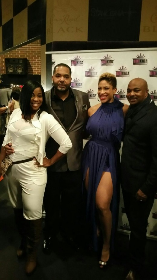 Jonell PR, Chef Jason Ellis, Marsha Shackleford, and Kwanza Hall