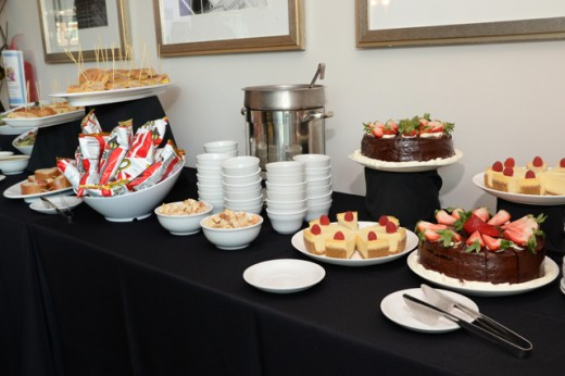 food set up 2