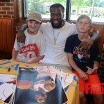 Zaxby's & SJAC Food Groups Summer Kick Off Meet & Eat With Atlanta Hawk Demarre Carroll