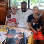 Zaxby's & SJAC Food Groups Summer Kick Off Meet & Eat With Atlanta Hawk Demarre Carroll