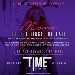 #ATLANTA EVENT: Singer @ImJustMone Presents Double Single Release Party at Time Restaurant TONIGHT!